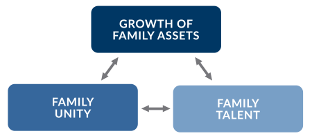 The cycle of development of the family business