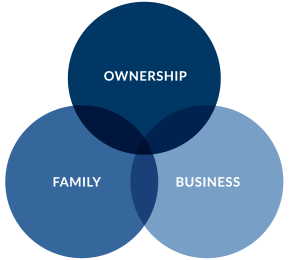 A Venn diagram of the Three-Circle Model of the Family Business System