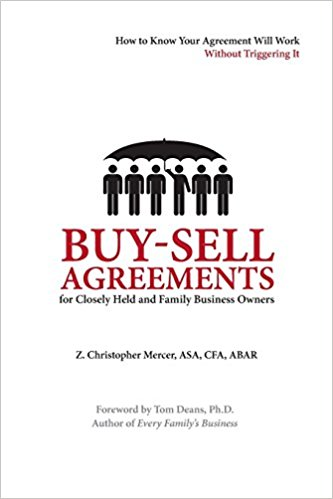 Buy-Sell Agreements for Closely Held and Family Business Owners