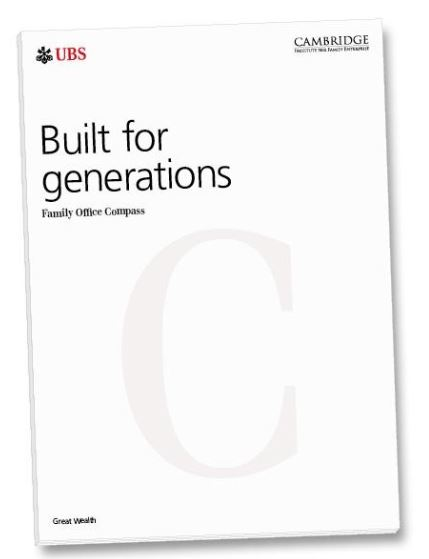 Built for Generations: <br><em>Family Office Compass Guidebook</em>