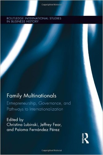 Family Multinationals: Entrepreneurship, Governance, and Pathways to Internationalization